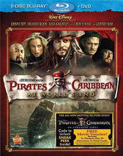 PIRATES OF THE CARIBBEAN:AT WORLD'S E BY DEPP,JOHNNY (Blu-Ray)